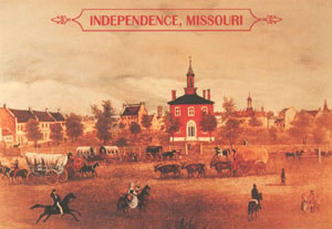 Independence Courthouse1850, from the Independence city website