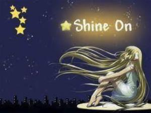 Shine On award logo