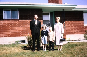 My family, Easter 1963