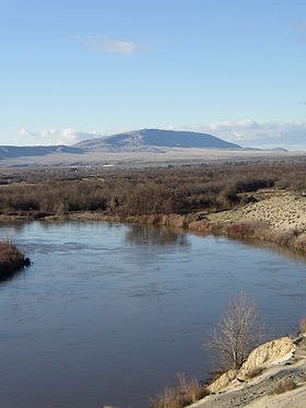 Rattlesnake Mountain, from Wikipedia