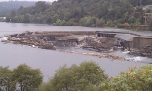 Willamette Falls today