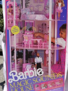 barbie magic sounds house