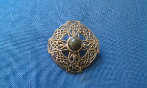 My grandmother's Celtic cross pin