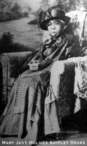 Mary Jane Holmes Shipley Drake, African American emigrant to Oregon