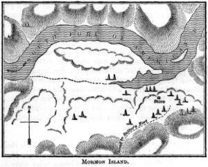 Mormon Island, from Wikipedia