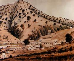 Bidwell's Bar in 1854, from Wikipedia