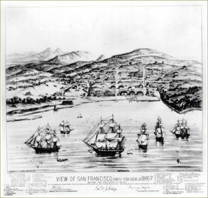 San Francisco Harbor 1846-47