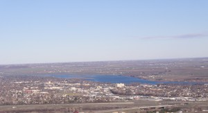 Richland, Washington, from Badger Mountain
