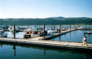 Marina, Harrison, ID, on Coeur d'Alene Lake