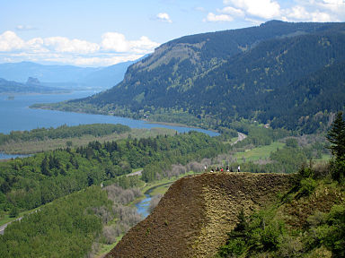Columbia River Gorge, from Wikipedia
