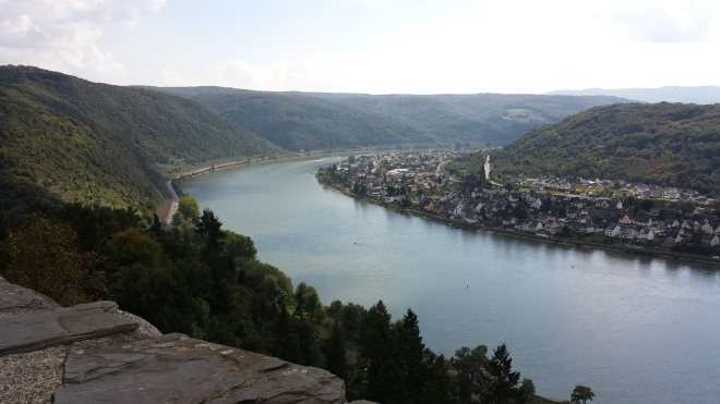 Rhine from Marksburg Castle