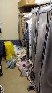 My side of the closet (AFTER)