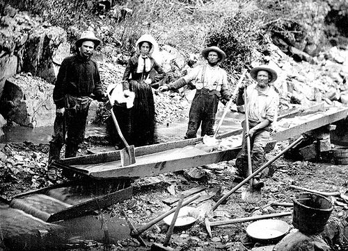 Women in the California Gold Rush