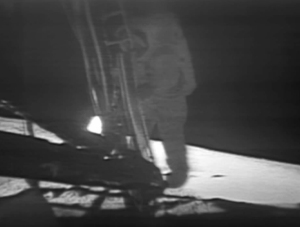 Apollo 11 - First step (from NASA website)