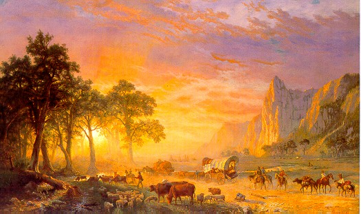 Bierstadt Oregon Trail