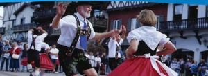 Leavenworth, WA, a Bavarian town in Washington State. Picture from city website