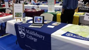 Middlebury RHS college fair 9-15-15