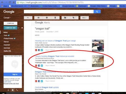 Google alert LMH