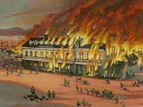 December 1849 - First Great Fire