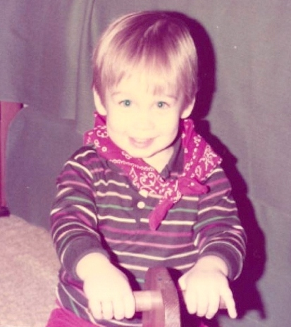 J on rocking horse circa 1984 cropped