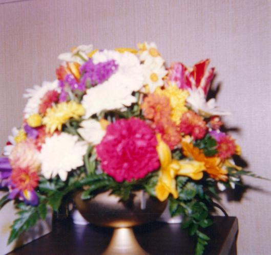 flowers on T's 21st BD