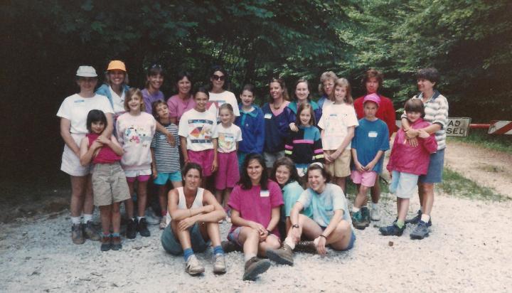 Green Cove June 1992 camping