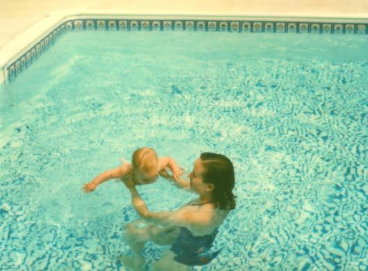 J & T in pool cropped 2