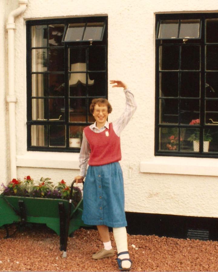 MFC in Scotland broken ankle June 1992