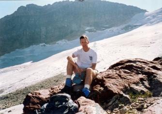 A at glacier