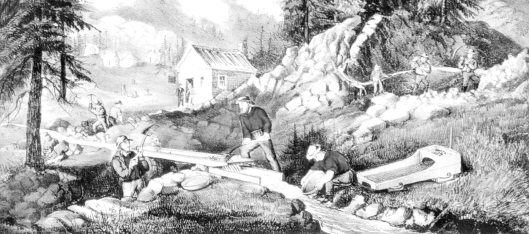 Gold Miners in California, Currier & Ives, c. 1871